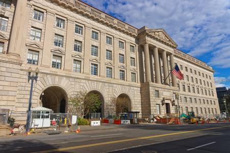 renamed: Herbert C. Hoover Building is the headquarters of the Department of Commerce and located in Washington D.C., USA. It was renamed after Herbert Hoover who was Secretary of Commerce and later President.