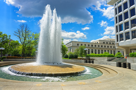 senators: Fountain can be found in Robert Latham Owen park in Washington D.C., USA. Robert Latham Owen was one of the first United States senators from the state Oklahoma. He was a democrat.