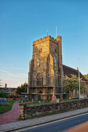 St Mary Church at Battle, Hastings, East Sussex in England.