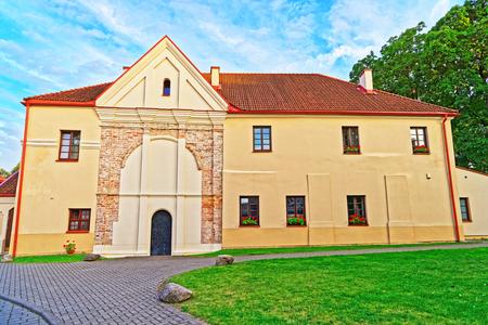 Building architecture in Vilnius, Lithuania