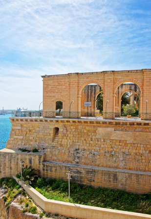 Upper Barracca Gardens at St Peter and Paul Bastion in Valletta, Malta