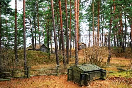 ethnographical: Ethnographic open air village, Riga, Latvia