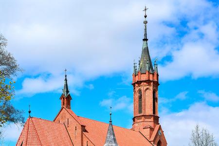 Church of St Mary Scapular, Druskininkai, Lithuania.