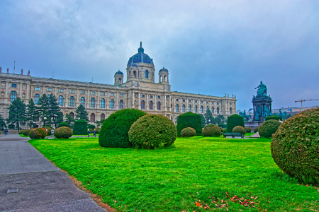 Vienna, Austria - January 8, 2014: Vienna Royal Museum of Natural History, Austria of Europe Editorial