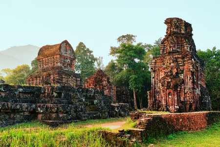 Ruins of Old hindu temples of My Son, Vietnam