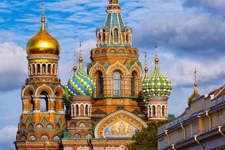 Auferstehungskirche in Sankt Petersburg, Russland. Standard-Bild