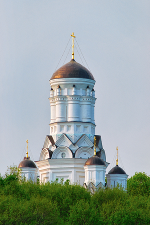 Church in Kolomenskoye park in Moscow in Russia