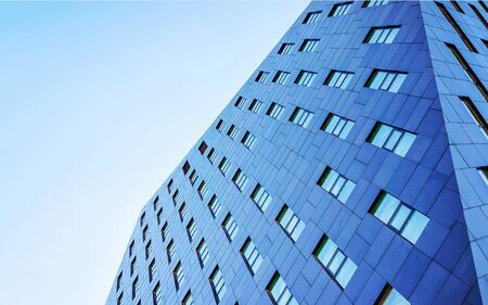 Business office Glass building architecture of Modern City Copy space