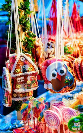 Gingerbread cookies Christmas Market at Gendarmenmarkt Winter Berlin
