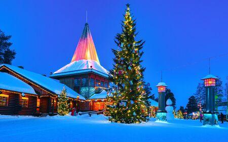 Arctic Circle lamps in Santa Office in Santa Village new