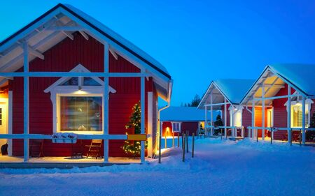 Santa Claus Holiday Village House Lapland new