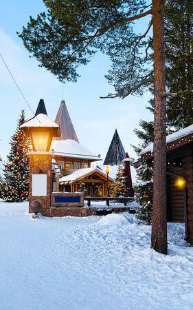 Santa Office at Santa Claus Village of Lapland new