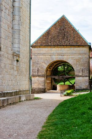 Well at Citadel of Besancon in Bourgogne Franche Comte region Stock Photo