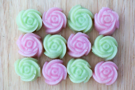 pudding: rose pudding