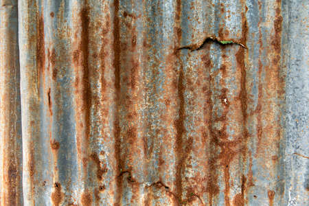 metal sheet: rusty metal sheet
