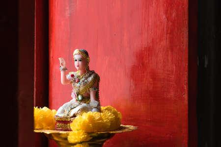 benevolent: Thai Goddess of Wealth Nang Kwak