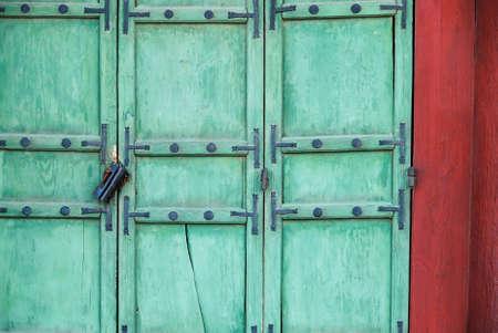 korean style house: vintage lock