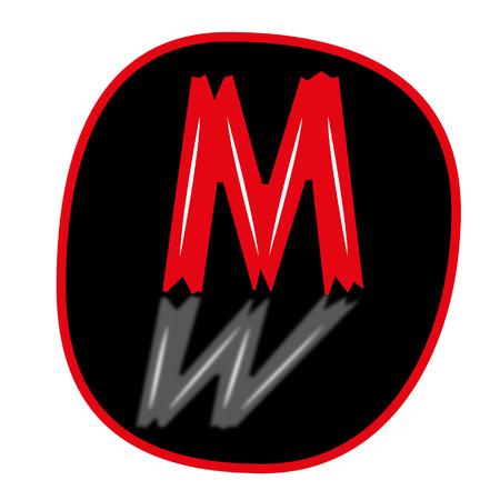 letter m logo Illustration