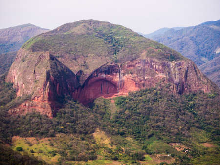 Bolivia, Samaipata, Scenic views and landscapes of National Park Amboro. Jungle