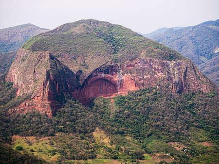 Bolivia, Samaipata, Scenic views and landscapes of National Park Amboro. Jungle Archivio Fotografico