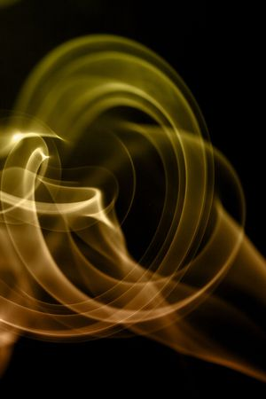 an abstract image of the smoke of a cigarrette
