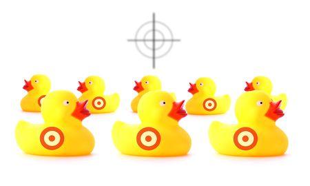 schieten de eenden