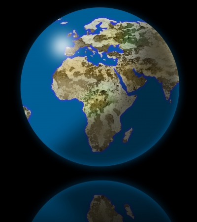 earth globe photo