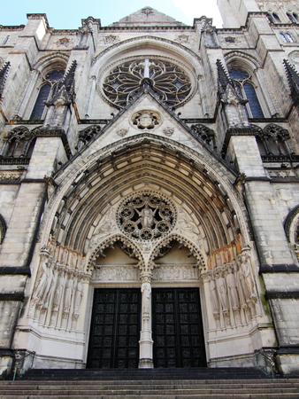 Manhattan, New York city, USA - Sep 2009  Cathedral of St  John the Divine photo