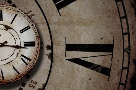 vintage clocks Stock Photo - 25114759