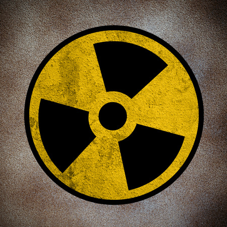 symbol of nuclear danger Stock Photo - 27514894