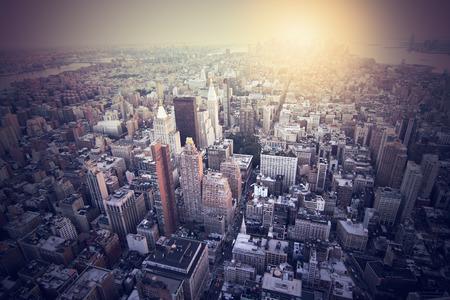 imagen: imagen a�rea de la ciudad de nueva york