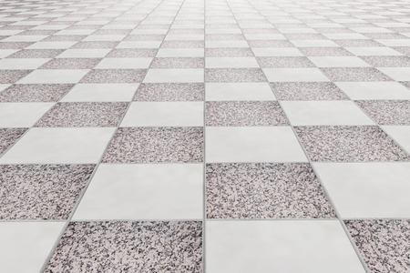 3d rendering of a square tiles wall