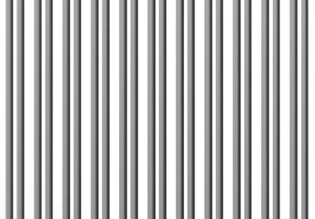 bric: 3d rendering of an abstract composition with a lot of grey bars