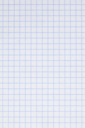 the plotting: detail of an empty plotting paper