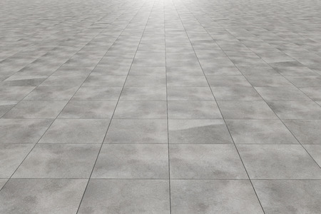 tile pattern: 3d rendering of a square tiles floor