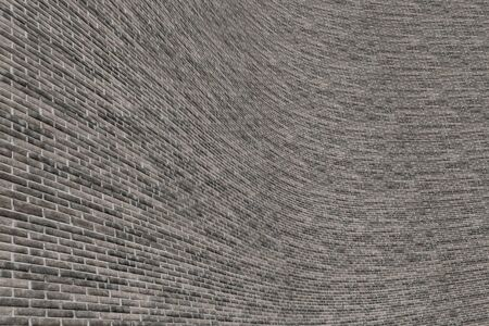 building wall: 3d rendering of an old and dirty brick wall