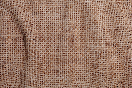 from above: 3d rendering of a natural brown linen fabric.From above