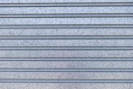 metal wall: Close-up of metallic wall Stock Photo