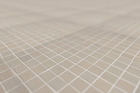 glazed: 3d rendering of a close-up of light ceramic glazed tile
