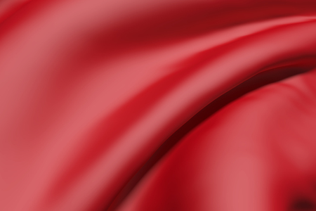 red cloth: 3D rendering of a red cloth waving Stock Photo