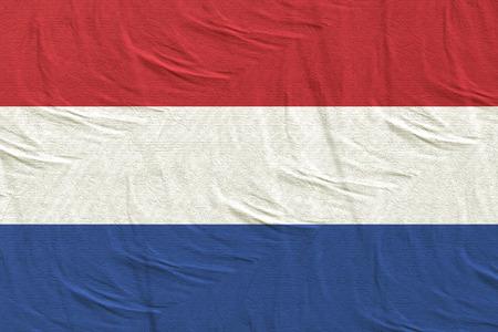 3d rendering of Netherlands flag