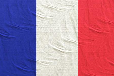 3d rendering of France flag Stock Photo