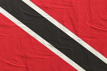 3d rendering of Republic of Trinidad and Tobago flag