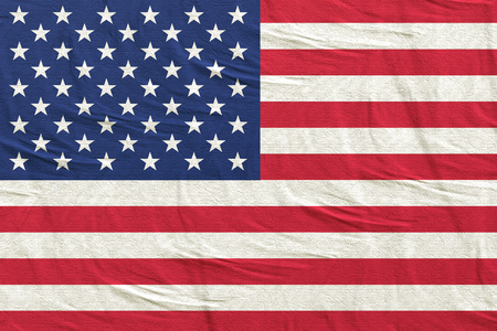 3d rendering of an United States of America flag