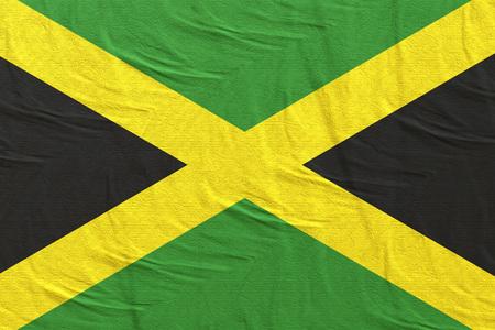 3d rendering of Jamaica flag Stock Photo