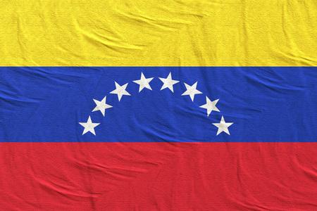 3d rendering of Venezuela flag Stock Photo