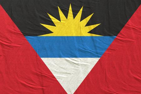 3d rendering of Antigua and Barbuda flag waving
