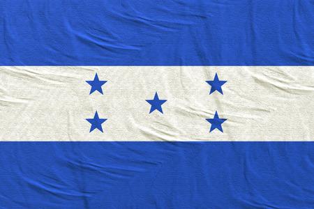 3d rendering of Honduras flag