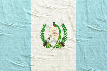 3d rendering of Guatemala flag
