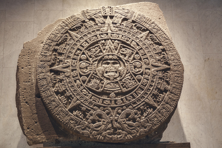 Stone of the sun - the Aztec calendar
